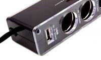 Разветвитель автомобильный  с USB