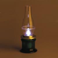 Лампа с датчиком задува