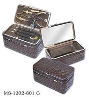 ZINGER Маникюрный набор MS-1202-801 G CASE