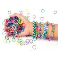 Набор для плетения браслетов и украшений из резинок