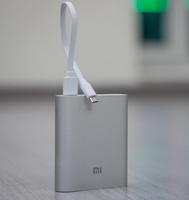 Внешний аккумулятор xiaomi power bank 10400 mah