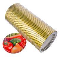 Крышка металлическая для консервирования 50шт