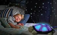 """Музыкальный ночник-проектор звездного неба """"Черепаха"""""""