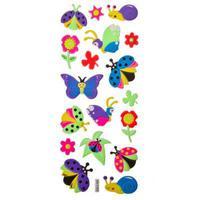 Наклейка флуоресцентная цветная 7-9 дизайнов
