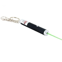 Лазерная указка-брелок с насадкой узоры