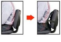 """Поддержка-корректор для спины на офисное(атомобильное) кресло """"ОФИС-КОМФОРТ"""""""