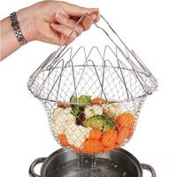 Корзинка складнаядля готовки Chef Basket.(Шеф Баскет)