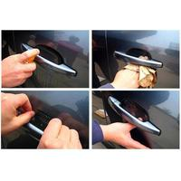 Пленка защитная под дверные ручки автомобиля (4 шт.)