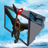 3D-экран для телефона Enlarged screen F2