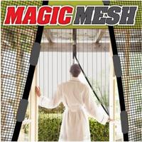 Штора магнитная Magic Mesh - Антимоскитная сетка чудо занавеска