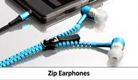 Наушники молния Zipper Earphones