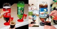 """Подставка-кран для бутылок """"Fizz Saver"""""""