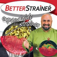 Универсальный дуршлаг-накладка для слива воды Better Strainer (Беттер Страйнер)