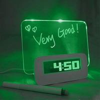 Часы «Световое послание»