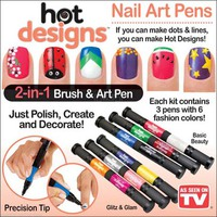 Набор для дизайна ногтей Hot designs