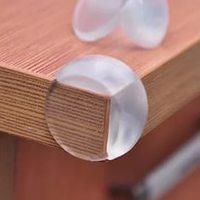 Уголки для мебели защитные круглые