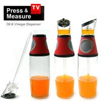 Диспенсер пресс дозатор для масла и уксуса