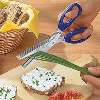 Ножницы для зелени и щеточка для лезвий.