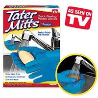 Перчатки для чистки овощей Tater Mitts (Татер Миттс)Шкурка
